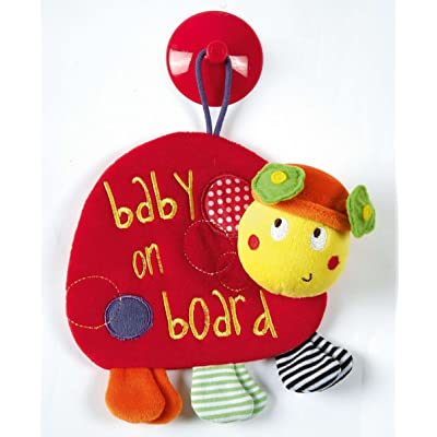 Mamas & Papas Baby on Board (Ladybird) : Car Seat Toys : Baby