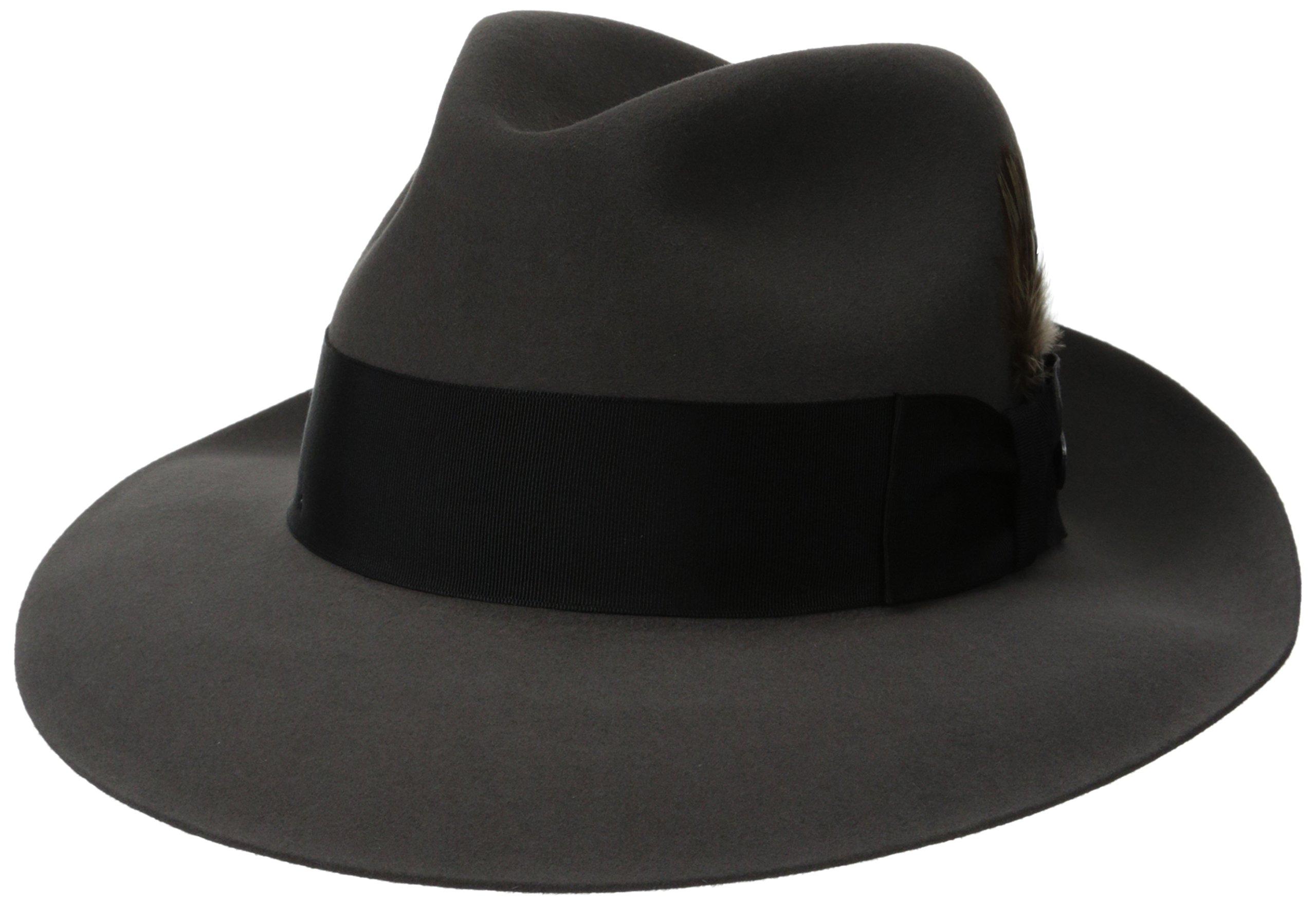 Stetson Men's Sttson Temple Royal Deluxe Fur Felt Hat, Caribou, 7.5