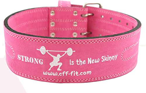 CFF Strong is The New Skinny 10mm Pro Double Buckle Power-Lifting Belt