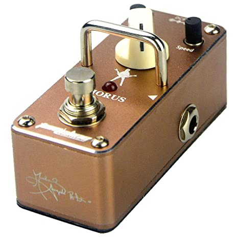 tomsline engineering  Tom'sline Engineering Analogue Chorus Pedal ACH3S Rich sound Vast range of  depth and speed by Michael Angelo Batio signature guitar effect pedal