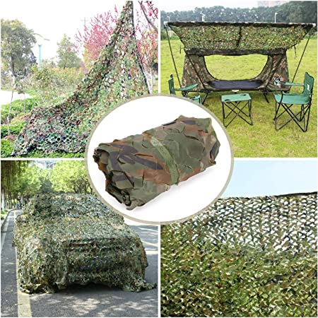 Jungle Camouflage Net 2 * 3m Hunting Army Camouflage Net Forest ...