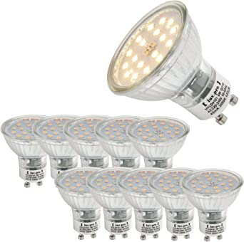 4//6//10X LED GU10 Glühbirne Spotlight Lampe Birne Leuchtmittel 3W 5W 7W Warmweiß