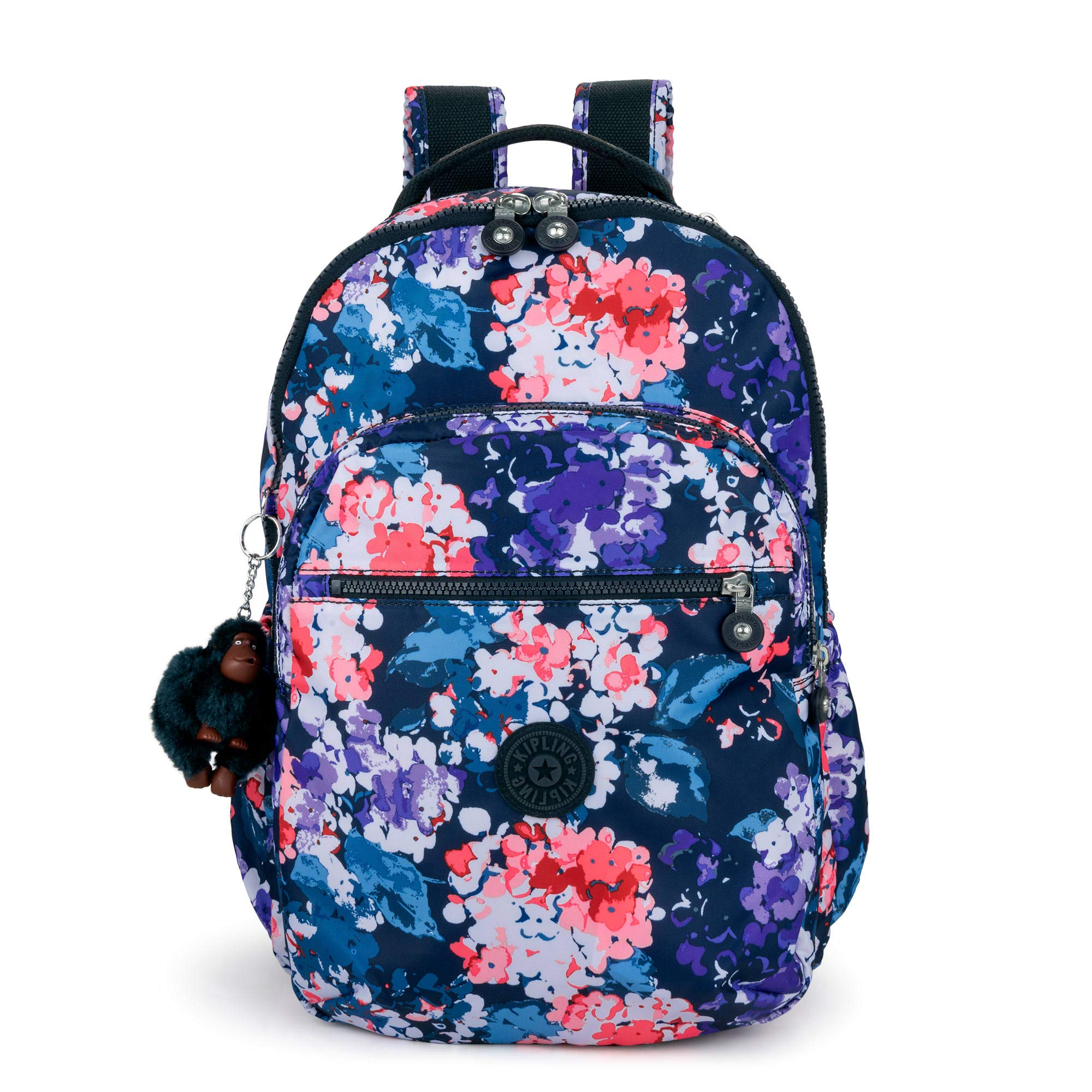 Kipling Seoul Go Large Printed Laptop 15'' Backpack One Size Blushing Blooms by Kipling (Image #1)