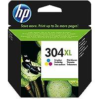HP 304XL Cartuccia inchiostro Originale Alta Capacità, Tricromia