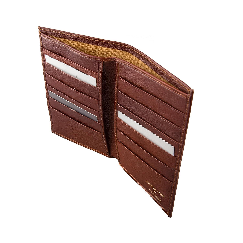 Maxwell Scott® Personalizada Lujo Italiano de bolsillo en el pecho tipo cartera de piel para hombre (pianillo) Marrón Classic Chestnut Tan: Amazon.es: ...