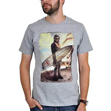 Wookiee The Gris Chewbacca Blanc Shirt Homme Star Pour Et Wars Beach T On 34RqjL5A