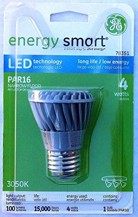 GE (78351) LED4P16SNFLTP, Case of 3 - Led Household Light Bulbs - Amazon.com
