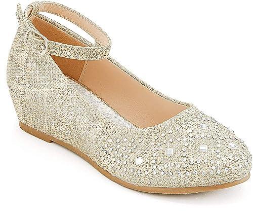 Furdeour Glitter High Heels Dress Shoes