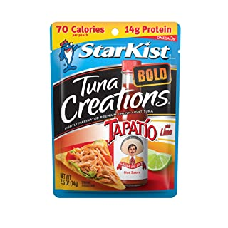 StarKist Tuna Creations BOLD, Tapatió, 2.6 oz Pouch (Pack of 24)