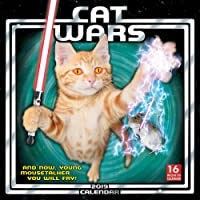 2019 Cat Wars 16-Month Wall Calendar: by Sellers Publishing, 12x12 (CA-0377)