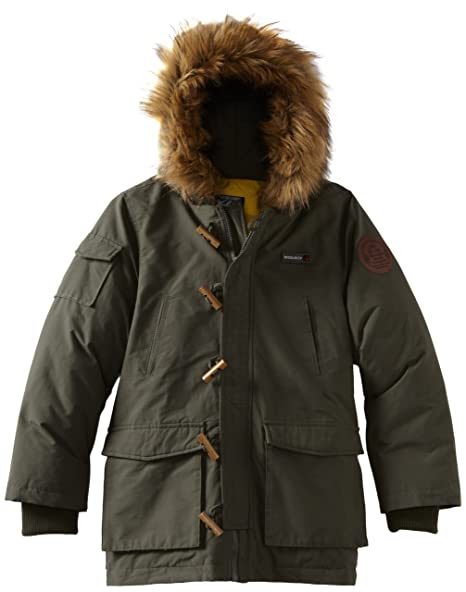 Amazon.com: Woolrich Big Boys Parka con capucha pelo ...