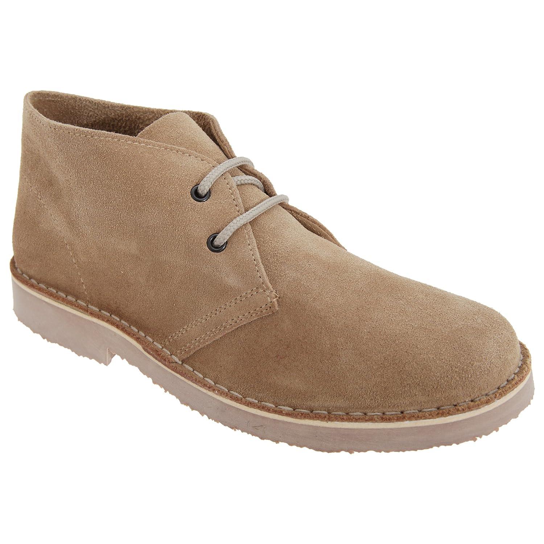 Roamers Damen Desert Boots / Wüstenstiefel / Schuhe, Wildleder (39 EUR) (Blau)