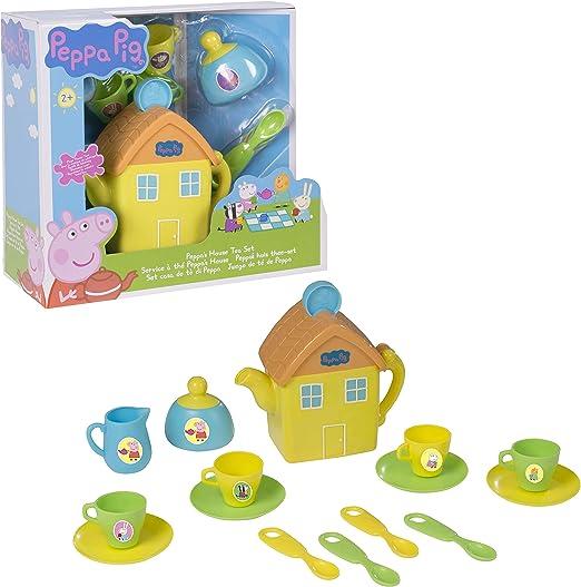 Peppa Pig Casa té Playset: Amazon.es: Juguetes y juegos