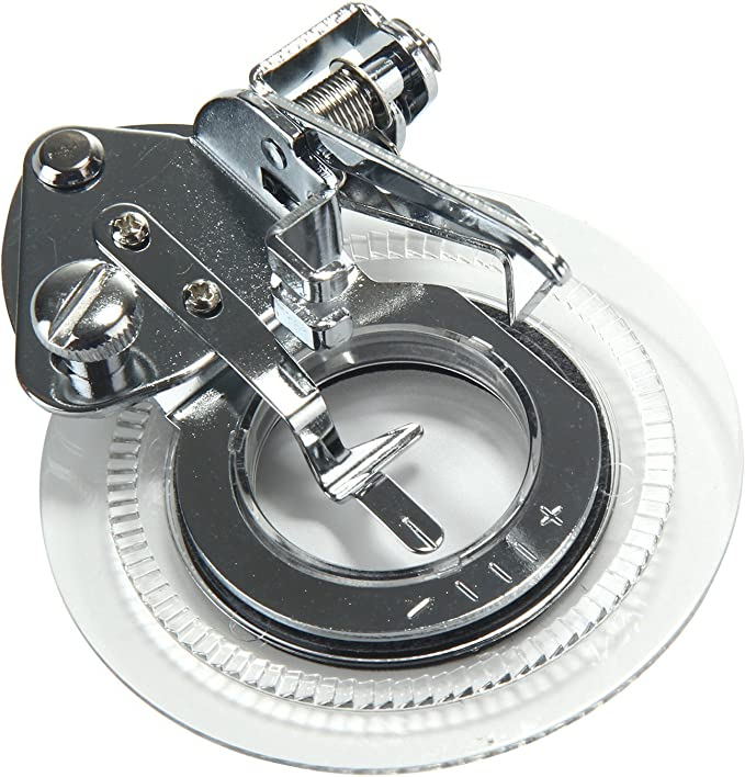 niceeshop(TM) Plata/ Blanco Pie Prensatelas de Máquina de Coser ...