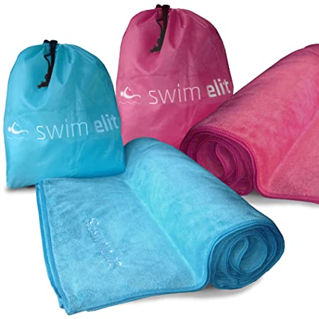 Swim Elite XXL Suave Microfibra Toalla de natación & de ...