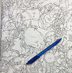 Coloring Book Flip Through Court Of Thorns And Roses By A K B Info