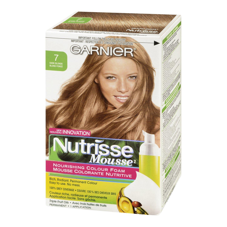 Amazon Garnier Nutrisse Nourishing Color Foam Dark Blonde