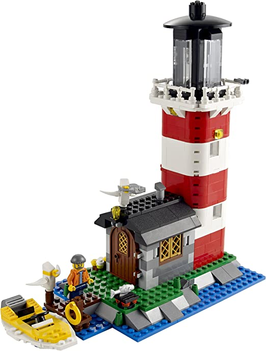 LEGO CREATOR Mini Lighthouse Brick Light house set 30023  polybag NEW RARE