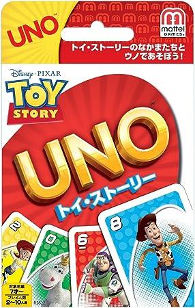 Toy Story Juego Cartas UNO: Amazon.es: Juguetes y juegos