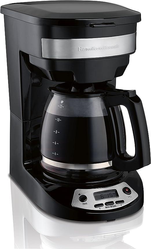 Amazon.com: Hamilton Beach 46299 - Cafetera programable de ...