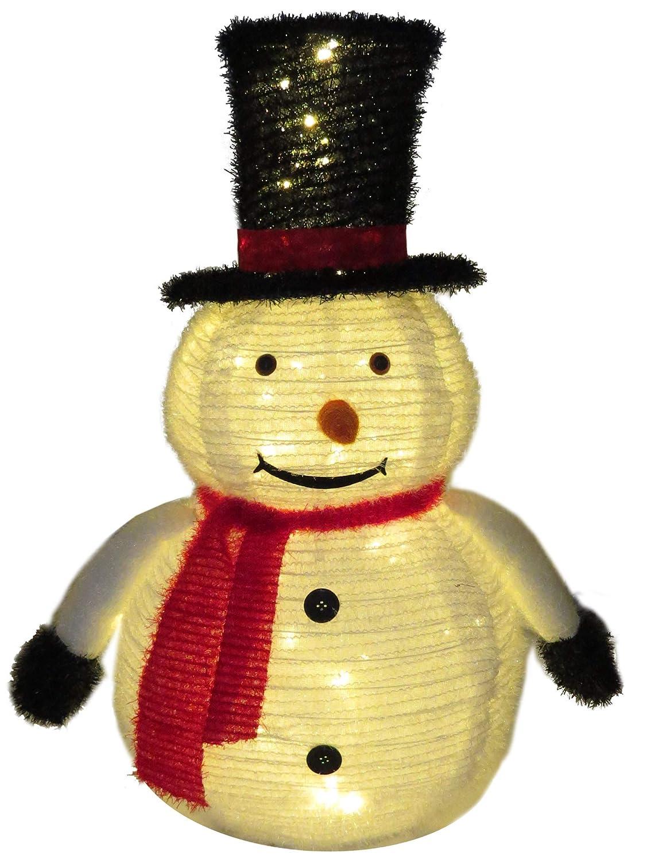 Papá Noel LED, con temporizador, exterior Gartenpirat