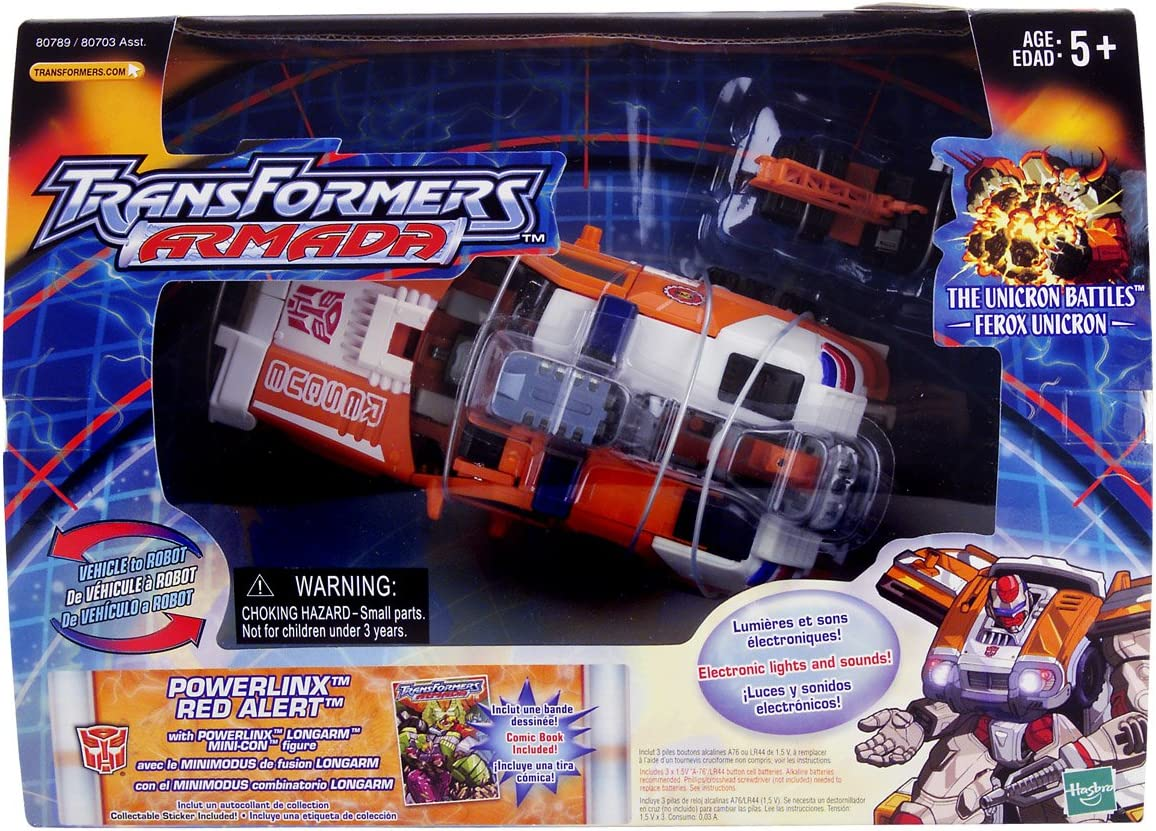 Transformers ARMADA UNICRON INSTRUCTION BOOKLET ONLY  2003