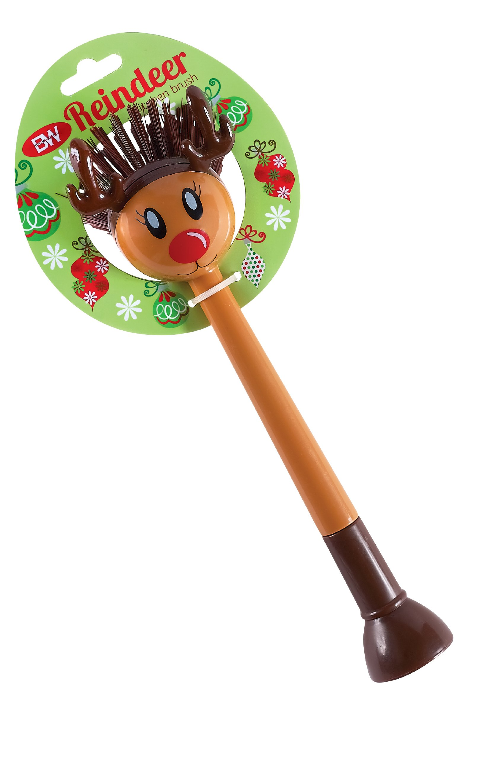 Boston Warehouse Reindeer Kitchen Brush by Boston Warehouse