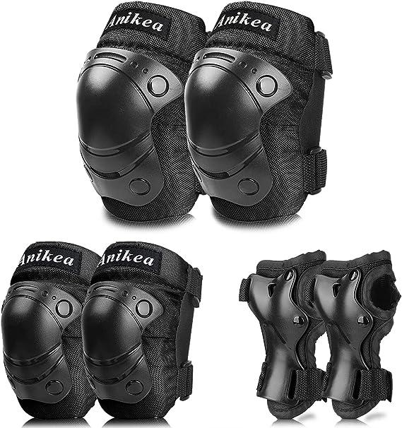 Kids Teens Elbow Knee Wrist Protective Guard Safety Gear Pads Children Heart xin