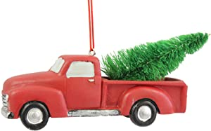 Midwest CBK 4 Inch Pickup Truck With Tree Ornament