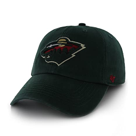 purchase cheap d6604 39f3e NHL Minnesota Wild  47 Brand Franchise Fitted Hat, Dark Green, Large