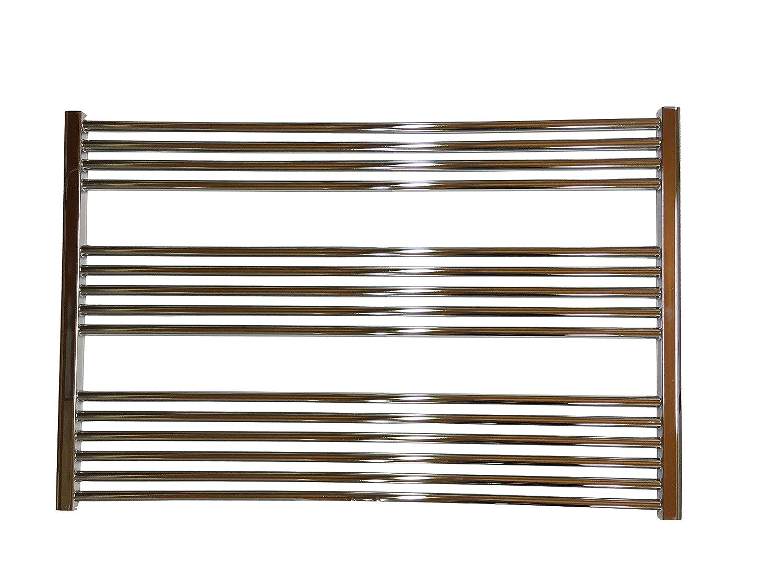 Gebogen Standardanschluss Badheizkörper LIDYA Chrom 1500 x 600 mm