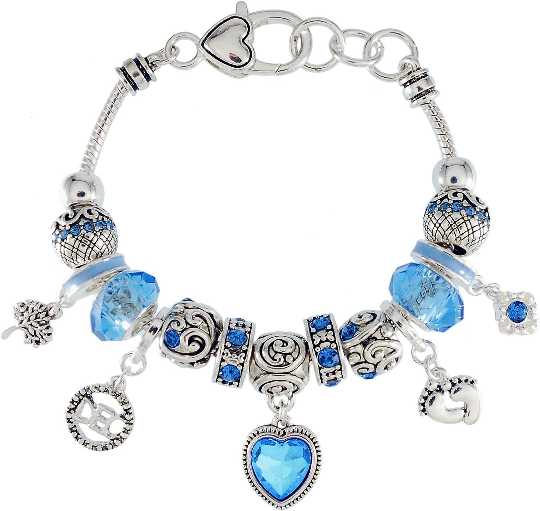 Amazon Com Landau Ambrosia December Birthstone Charm Bracelet Jewelry
