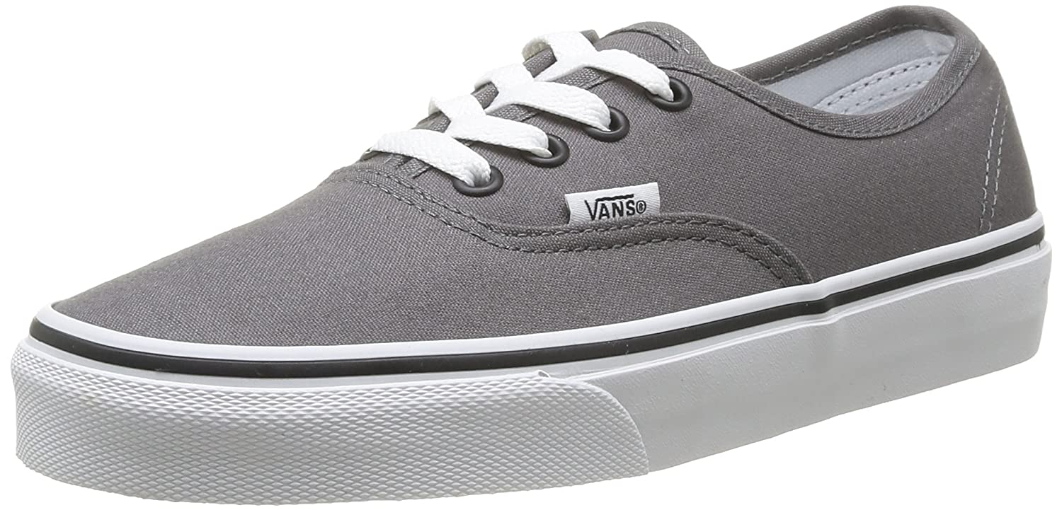 Wählen Sie für späteste bestbewerteter Beamter riesige Auswahl an Vans Authentic Classic, Unisex Adult Low Top Lace-up Trainers, Gold - Gold  (Pewter/Black), 2.5 UK (34.5 EU)