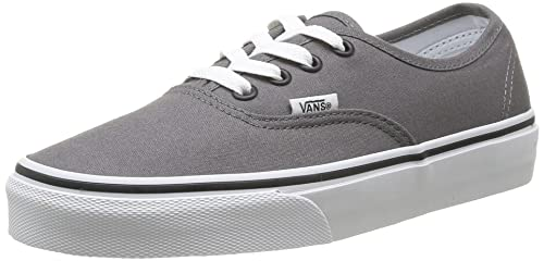 Vans AUTHENTIC Sneaker Unisex adulto Grigio Pewter/Black 36.5