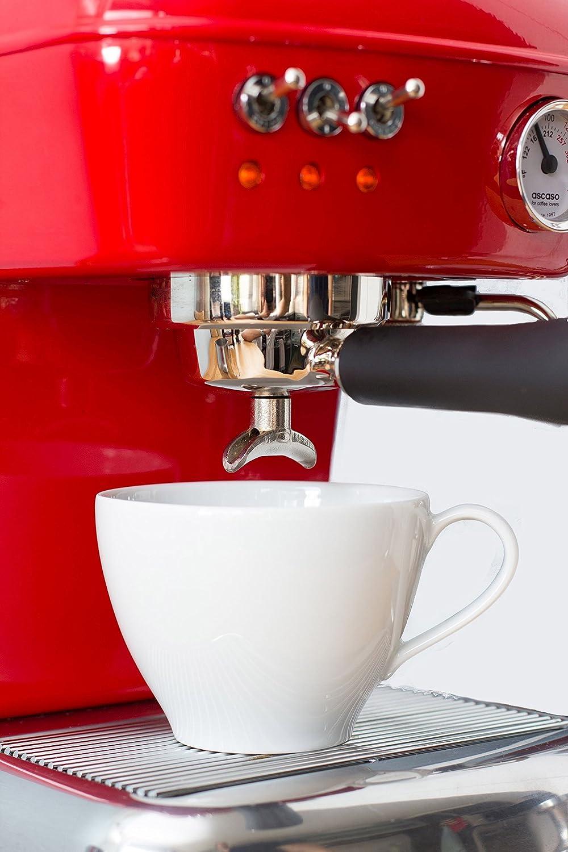 ascaso Dream – Portafiltros eléctrica, cafetera expreso para ...