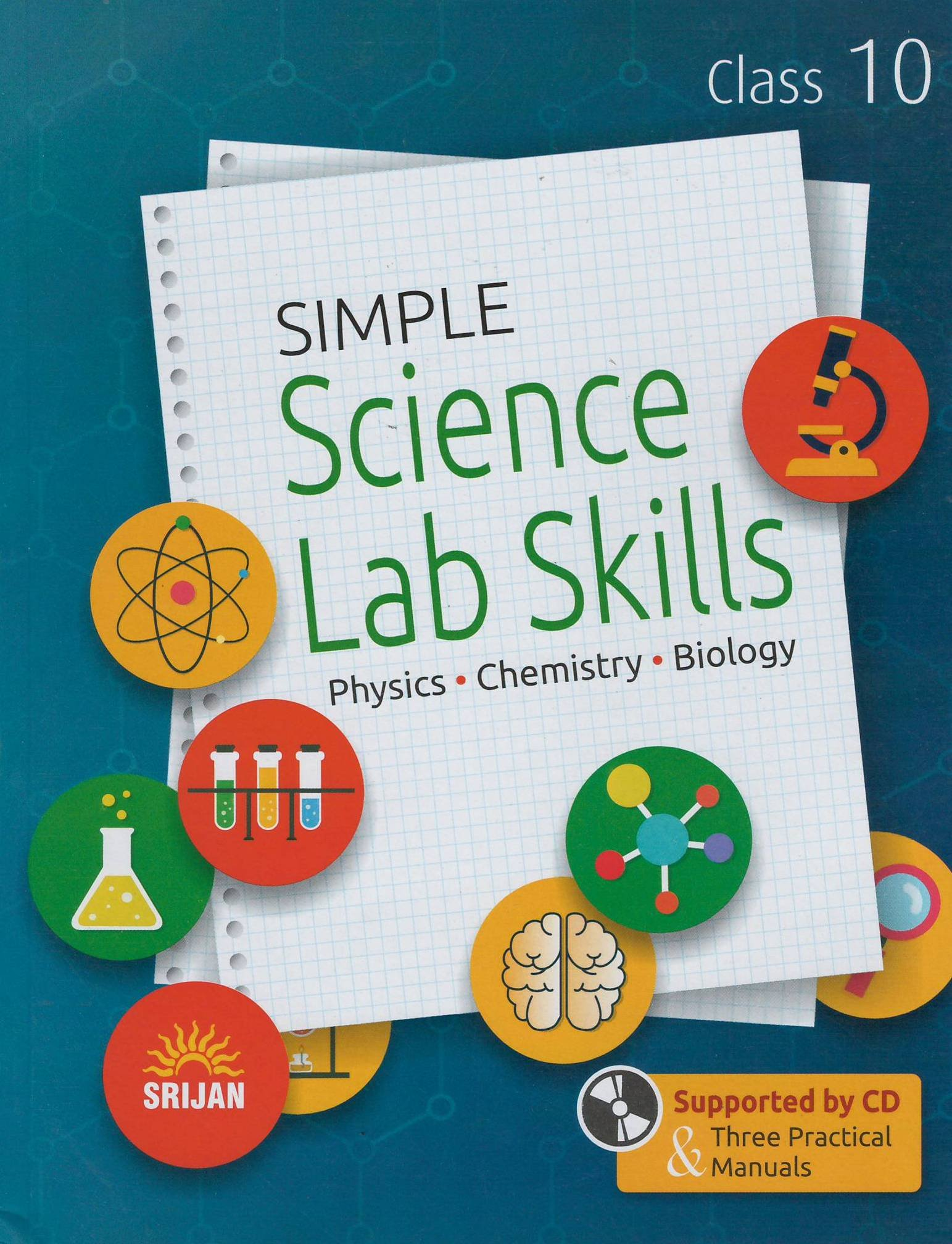 STD 10 TH Book Online at Low Prices in India | SRIJAN SIMPLE SCIENCE LAB  SKILLS.PHYSICS.CHEMISTRY.BIOLOGY.STD 10 TH Reviews & Ratings