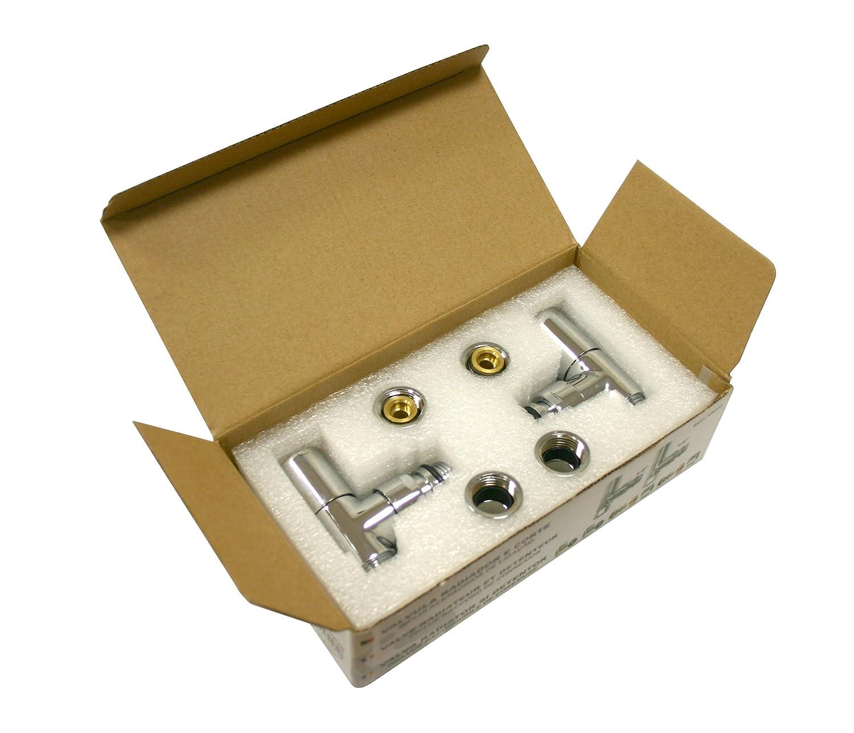Cromo RC VRYD Kit V/álvula y Detentor para Radiador