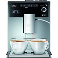 Melitta Caffeo CI Special E970-306, Kaffeevollautomat mit Zweikammern-Bohnenbehälter, One Touch Funktion, Silber