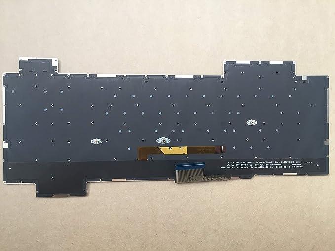 Original New for ASUS ROG Strix Scar II GL704GW GL704GW-PS74 GL704GW-DS76 Keyboard US Backlit
