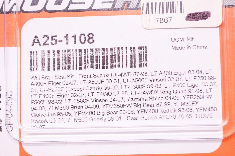 Moose Racing Front Wheel Bearing and Seal Kit