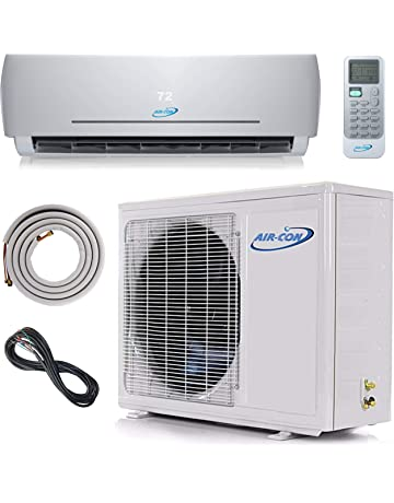 18000 BTU Mini Split Ductless Air Conditioner – 23 SEER - 12 Lineset & Wiring