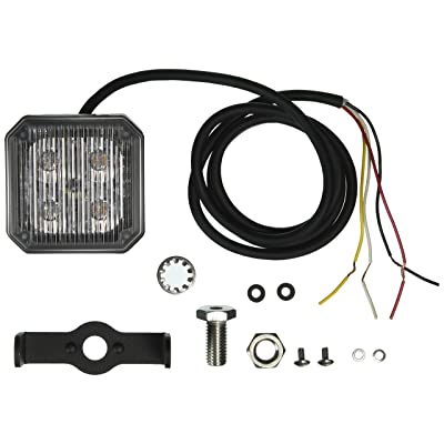 Grote 76793 Yellow Auxiliary LED Strobe Light: Automotive