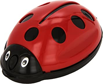 Wenko 7446100500 - Aspirador de mesa para migas (polipropileno, 12 x 6 x 18 cm), color rojo: Amazon.es: Salud y cuidado personal