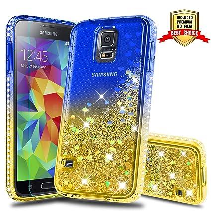 Amazon.com: Carcasa para Samsung Galaxy S5, con protector de ...