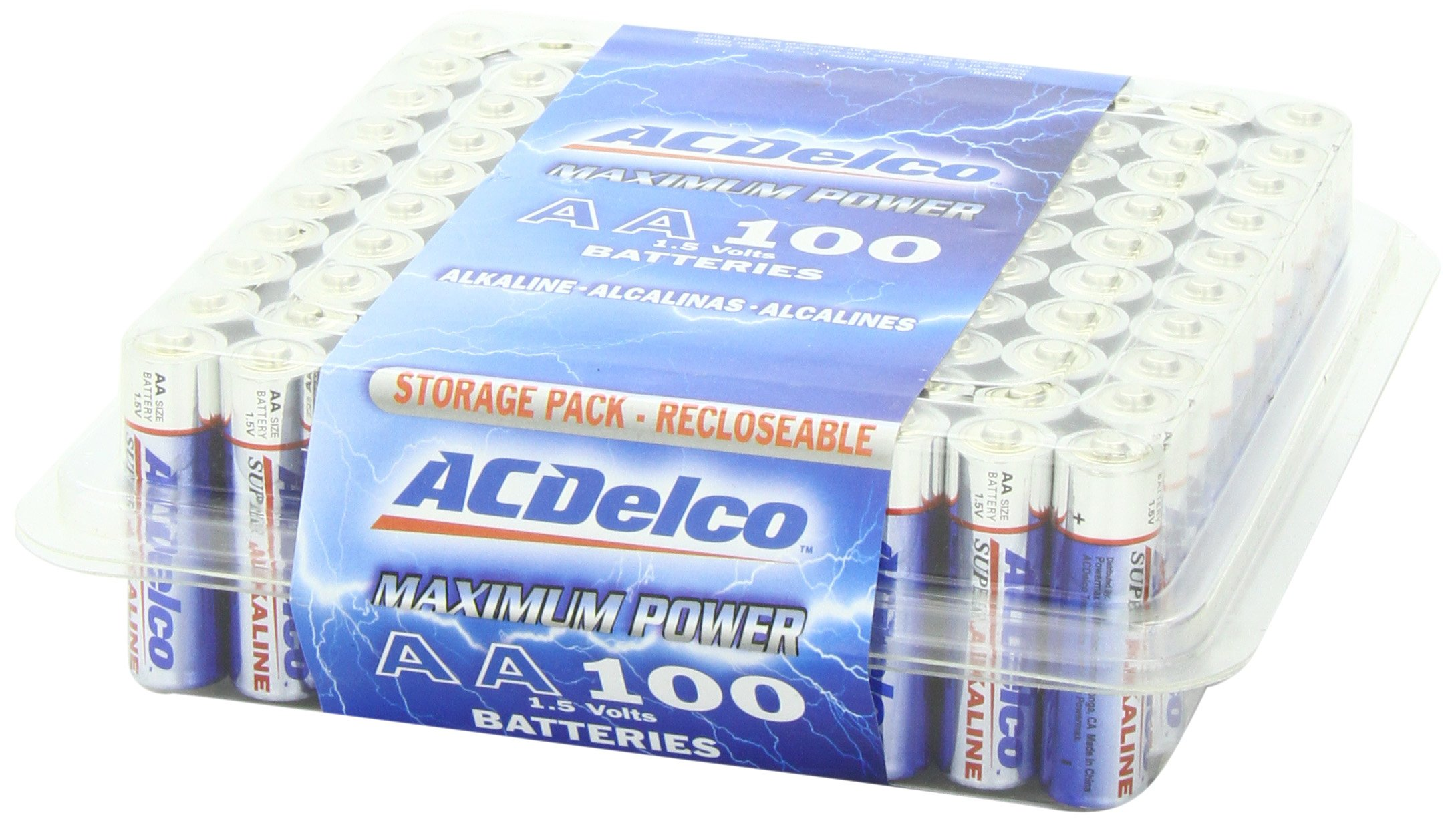 Acdelco Aa Batteries Double A Battery Super Alkaline
