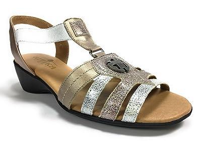 Artika RIVES Argent - Chaussures Sandale Femme