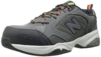fe7f5a2d37e new balance Men s Steel-Toe Work Safety Shoes Grey 8 D(M) US  Amazon ...