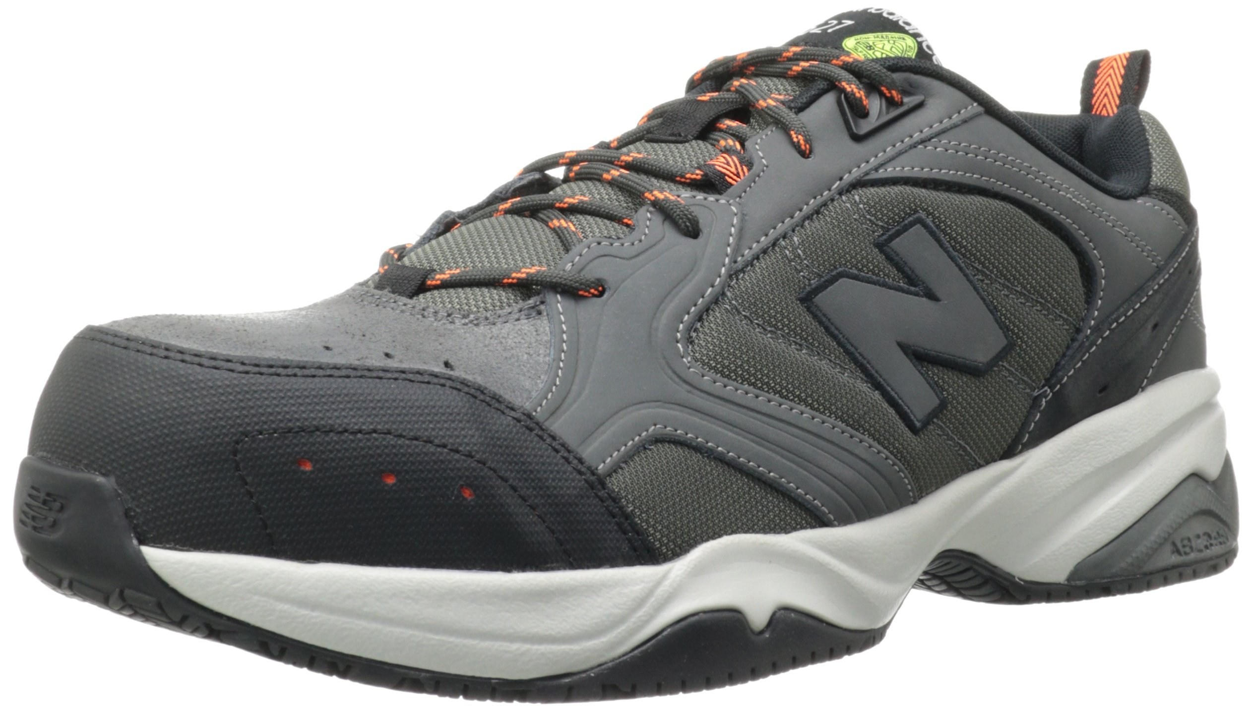 New Balance Men's MID627 Steel-Toe Work Shoe,Grey,17 D US