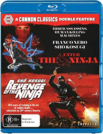 Enter The Ninja / Revenge Of The Ninja Cannon Classics USA ...