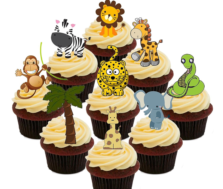 Paquete de decoración para pasteles, diseño de animales de la ...